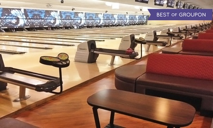 $40 for Two-Hours of Bowling for Up to Five with a Large Pizza (Up to $74.15 Value)