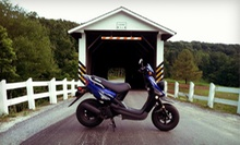 Covered-Bridge Morning Tour with Scooter Rental from Strasburg Scooters (Up to 60% Off). Four Options Available.