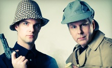 """Sherlock Holmes"" or ""The Emperor's New Clothes"" at Salty Dinner Theater (Up to 40% Off). 11 Showtimes Available."