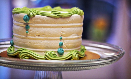 $45 for a Gourmet Cake-Decorating Class at Amanda Oakleaf Cakes (Up to $90 Value)