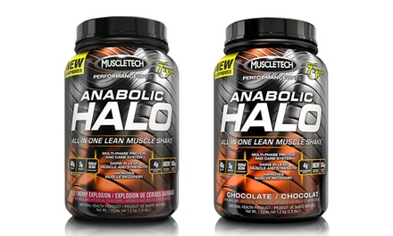 2.5 lbs. of MuscleTech Halo Elite Series Protein Supplement Chocolate or Cherry