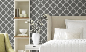 33-Ft Ultra Removable Pre-Pasted Wallpaper