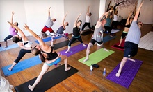 10 or 20 Sessions at Kai Yoga (Up to 80% Off)