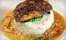 Southern Cuisine at Darker Than Blue Cafe (51% Off). Two Options Available.