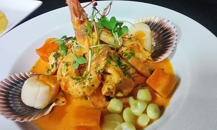 $24for $40Worth of Peruvian Cuisine and Drinks at El Gran Inka