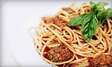 Italian Lunch or Takeout for Two or Four at Pranzi Ristorante &amp; Enoteca (Up to 52% Off)