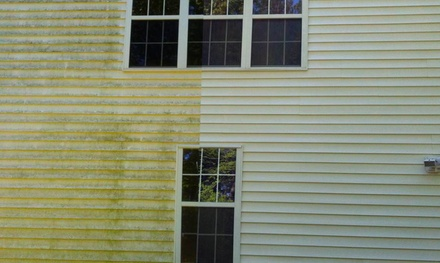 Up to 55% Off Exterior home pressure washing  at A Better Solution Lawn Care