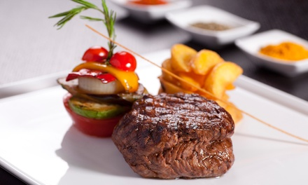 Continental Cuisine at Richard Fiske's Martini Bar & Restaurant (38% Off). Groupon Reservation Required.