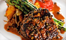 Steak-House Cuisine for Dinner or Brunch at Gaslight Grill (Half Off)