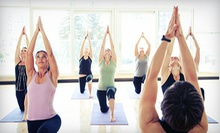 10 or 20 Yoga Classes at The Yoga Studio of Shelby (Up to 74% Off)