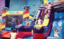 5 or 10 Kids Bounce-House Visits to Pump It Up Glenview (Up to 51% Off)
