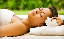 One-Hour Massage or Spa Package with Body Scrub, Massage, and Facial at Panache Salon & Spa (Up to 53% Off)
