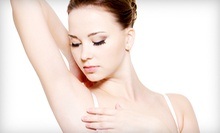 Six Laser Hair-Removal Treatments on a Small or Medium Area at Clayton Med Spa (68% Off)
