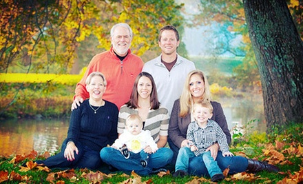 $59 for a 45-Minute Photo Shoot with 11&quot;x14&quot; Print and 25-Image DVD Slideshow at Spotlight Photography ($385 Value)
