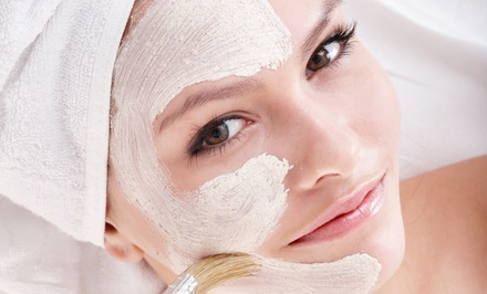 One or Three Facials or Chemical Peels at Vanity Lash Lounge (Up to 58% Off)