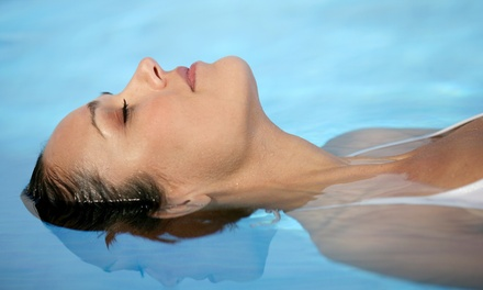 $150 for Five Hours of Any Combination of Floating Services at The Float Spot ($300 Value)