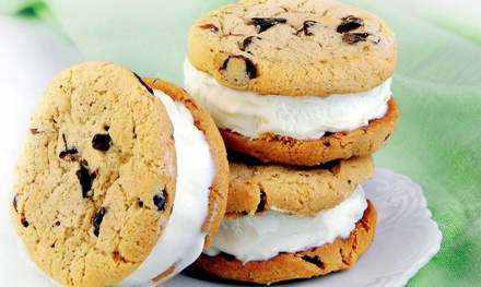 Ice Cream Sandwiches, Milkshakes, Sundaes, and Cookies at Sweet Addiction, Cookies & Ice Cream (Up to 50% Off)