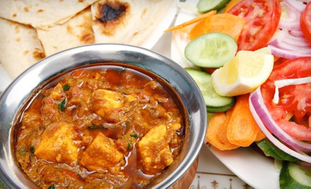 Indian Food for Two or Four at Mughal Indian Cuisine (Up to 52% Off)