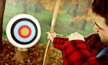 $25 for a One-Hour Practice Session with Bow-and-Arrow Rental for Two at Barefoot Archery ($50 Value)