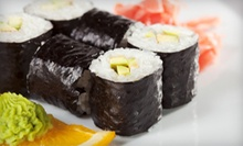 Dine-In Sushi Meal for Two or $10 for $20 Worth of Asian Carryout Food and Drinks at Cucumber