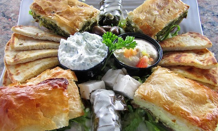 $12for $20 Worth of Greek Food for Dinner at Stratos Greek Taverna