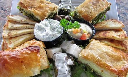$12for $20 Worth of Greek Food for Dinner at Stratos Greek Taverna