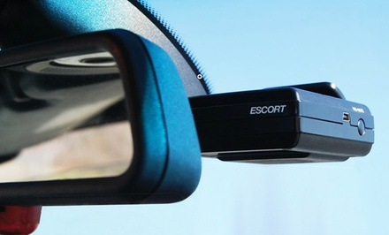 Escort SmartRadar Radar and Laser Detector for iPhone or Android with Cigarette Lighter Power Adapter