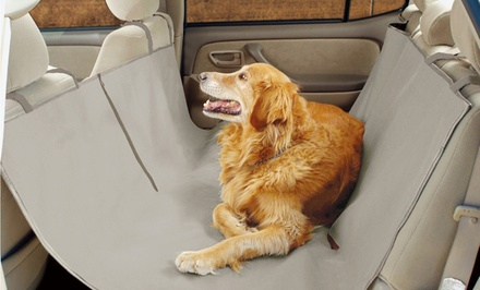 Pet Back Seat Cover for Cars