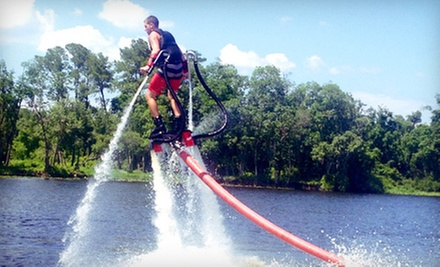 $109 for a One-Hour Flyboard Session with Photo at Ironmon Watersports ($255 Value)