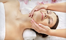 Deep-Tissue Massage and Galvanic Facial with Optional Body Wrap at Voila Boutique Salon (Half Off)
