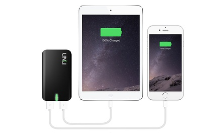 uNu Enerpak Plus 8,000mAh Portable Dual-USB Backup Battery