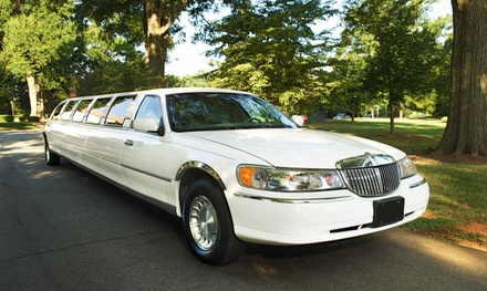 Limo Service from Delta Limousine Services (Up to 56% Off). Six Options Available.