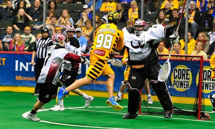 $19 for a Minnesota Swarm Lacrosse Game at Xcel Energy Center on February 6, February 13, or March 14 ($37.62 Value)