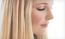 Cut and Blow-Dry with Optional Partial or Full Highlights, or Brazilian Blowout at Headlines & Co. Salon (Up to 74% Off)