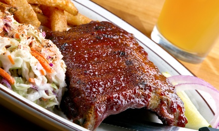 One Barbecue Platter or $16 Worth of Bar Fare and Drinks at Holy Smoke Barbecue (Up to 47% Off)