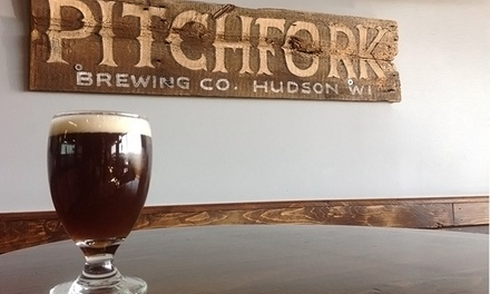 Two or Four Pints or Flights with Take-Home Growlers at Pitchfork Brewing Company (Up to 56% Off)