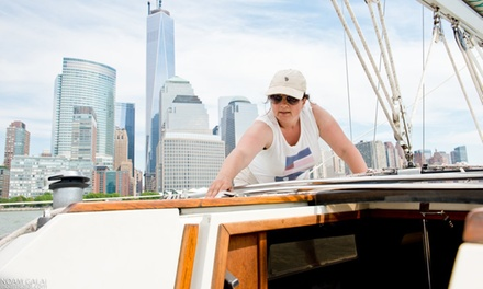 One or Three Hands-On Group Sailing Lessons, or One Private Sailing Lesson at Sailors NYC (Up to 47% Off)