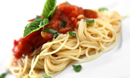 Italian Cuisine at Mangia Ristorante Pizzeria (Up to 53% Off). Two Options Available.