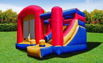 $199 for a Themed Party Package with Bounce House for Up to 16 Kids from Calgary Party Rental ($399 Value)