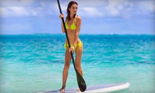 One-Hour Standup-Paddleboarding Lesson and Tour for One or Three from Hamptons Paddleboard (67% Off)