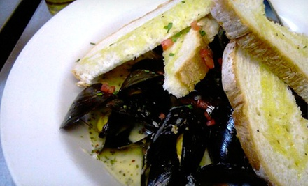 Bistro Cuisine for Dinner for Two or Four, or Lunch at Cork Neighborhood Bistro (Up to 58% Off)
