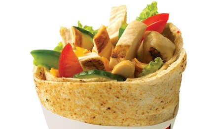 Pitas and Mediterranean Fare or One Premium Pita Platter at Extreme Pita (Up to 50% Off)