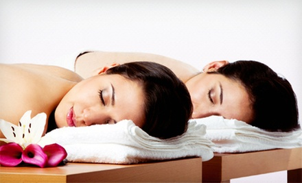 $89 for Couples&#x27; Spa Package with Facials, Dcollet Massage, and Tea Service at Birmingham Tea Spa ($225 Value) 
