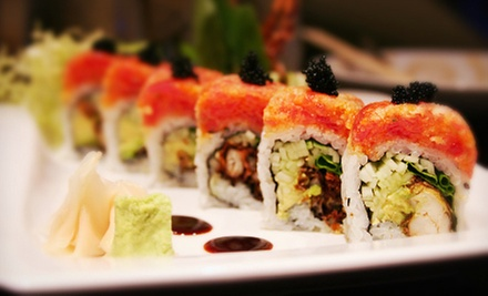 $10 for $20 Worth of Sushi and Asian Cuisine at Sakura