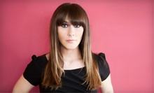 Haircut with Optional Partial or Full Highlights, or Full Set of Hair Extensions at Serenity Salon & Spa (Up to 67% Off)