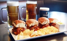Bar Food and Drinks for Lunch or Dinner at House of Music Entertainment (Half Off)