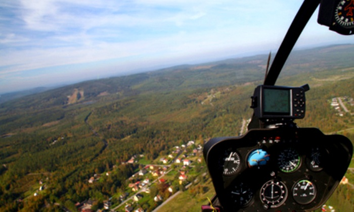 Adventure 001 - Multiple Locations: Stately Home Helicopter Tour for £54 with Adventure 001 (50% Off)