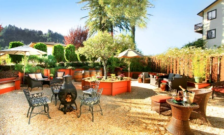 groupon daily deal - 1- or 2-Night Stay for Two with Champagne and Winery Passes at West Sonoma Inn & Spa in California
