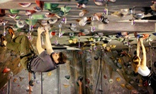 Introductory Rock-Climbing Class for One or Novice Climb Package for Two at Atlanta Rocks! (Up to 57% Off)
