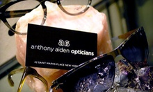 $35 for an Eye Exam and $200 Toward Prescription Eyewear at Anthony Aiden Opticians ($305 Value)